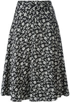 Etro floral print pleated skirt - women - Viscose - 40