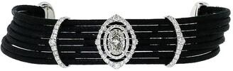 INBAR 18kt White Gold And Diamond Motif Bracelet
