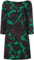 Milly macro floral print dress