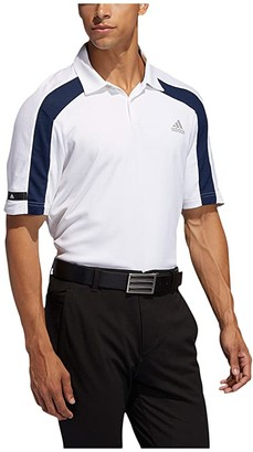 adidas Sport Heat.Rdy Polo Shirt (White) Men's Clothing