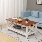 Biddlestone Coffee Table with Storage Rosecliff Heights