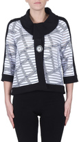 Joseph Ribkoff Check Pattern Jacket