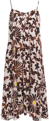 Missoni Floral-print Woven Dress