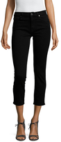 7 For All Mankind Kimmie Illusion Luxe Cropped Jean