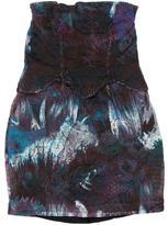 Cynthia Rowley Strapless Mini Dress