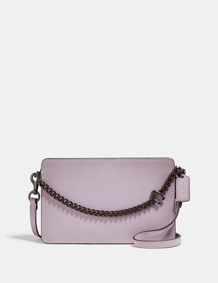 Coach Signature Chain Crossbody In Colorblock