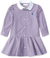 Ralph Lauren Striped Shirtdress & Bloomer
