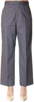 Maison Margiela High-waist Cotton Trousers
