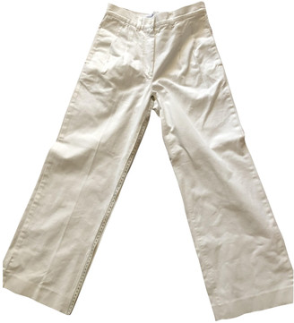 Chanel White Denim - Jeans Trousers