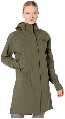 The North Face City Futurelight Parka (New Taupe Green) Women's Clothing