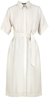 Essential Shirt Dress In White