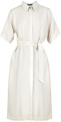 Flow Essential Shirt Dress In White