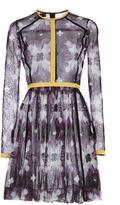 Burberry Digital Tie Dye Cotton Tulle Dress