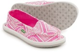 Sanuk Light Bright Moc Shoes - Slip-Ons (For Little and Big Girls)