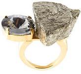 Marni pyrite ring