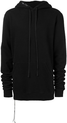 Unravel Project drawstring hoodie