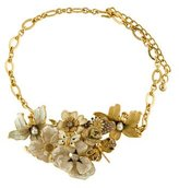 Kenneth Jay Lane Floral Statement Collar Necklace
