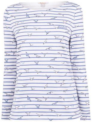 Barbour Hawkins Print Long Sleeve T Shirt