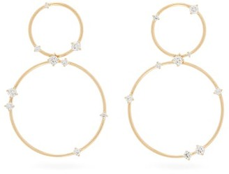 Fernando Jorge Circus Diamond & 18kt Gold Hoop Earrings - Gold