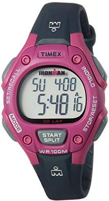 Timex Women's TW5M16100 Ironman Classic 30 Mid-Size Resin Strap Watch