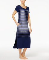 Charter Club Striped Cotton Nightgown, Only at Macy's