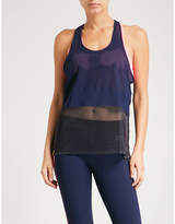 Monreal London Racer sports-mesh top