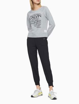 Calvin Klein Logo Graphic Crewneck Sweatshirt