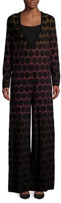 Missoni Embroidery Pull-On Jumpsuit