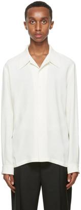 Séfr Off-White Wool Rampoua Shirt