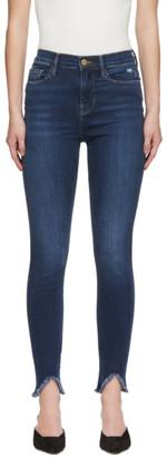 Frame Blue Ali High-Rise Skinny Jeans