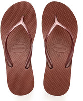 Havaianas Women's Flip-Flops BRONZE - Bronze Nude Wedge Flip-Flop - Women