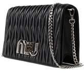 Miu Miu Women's Black Leather Clutch.