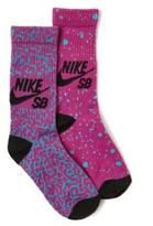 Nike Girls Crew Socks 2-Pack