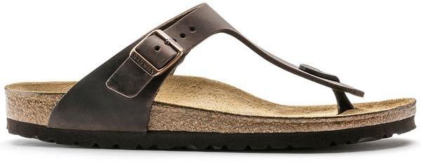 Birkenstock Gizeh Oiled Leather Habana Sandal - 43