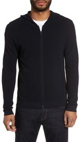 Theory Boris Zip Front Hooded Sweater