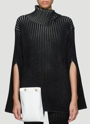 MONCLER GENIUS Moncler 1952 Pouch Detail Ribbed Knit Sweatshirt
