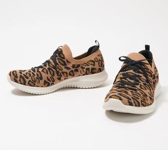 Skechers Ultra Flex Knit Slip-On Sneakers - Pop Sensation