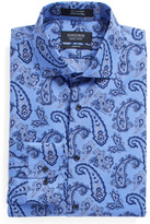 Nordstrom Trim Fit Paisley Dress Shirt