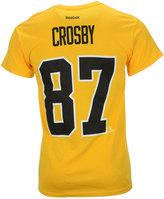 Reebok Men's Sidney Crosby Pittsburgh Penguins Player T-Shirt