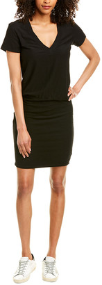 James Perse Solid Blouson Dress