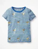 Boden Stripe and Shine T-shirt