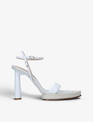 Jacquemus Les Sandales Novio leather platform sandals