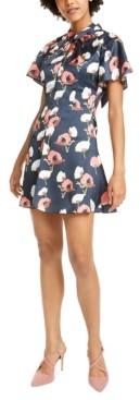 Foxiedox Talia Floral-Print Mini Dress