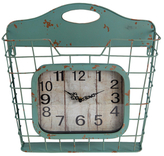 Privilege Wall Clock with Basket
