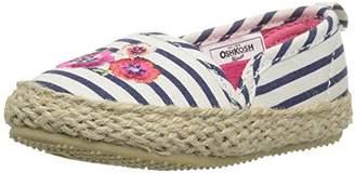 Osh Kosh Sadie Girl's Espadrille Flat