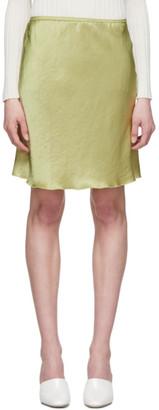 Nanushka Green Gem Miniskirt
