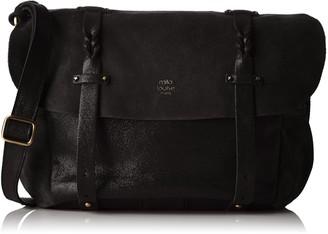 Mila Louise Olou Spark/cr Noir Womens Cross-Body Bag 13x18x29 cm (W x H L)