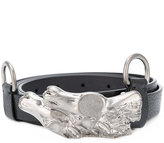 Maison Margiela horse head buckle belt - men - Calf Leather - One Size