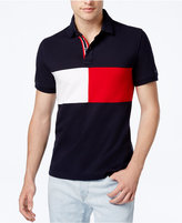 Tommy Hilfiger Men's Logo Carson Colorblocked Stretch Polo