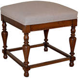 One Kings Lane Vintage 19th-C. English Upholstered Stool